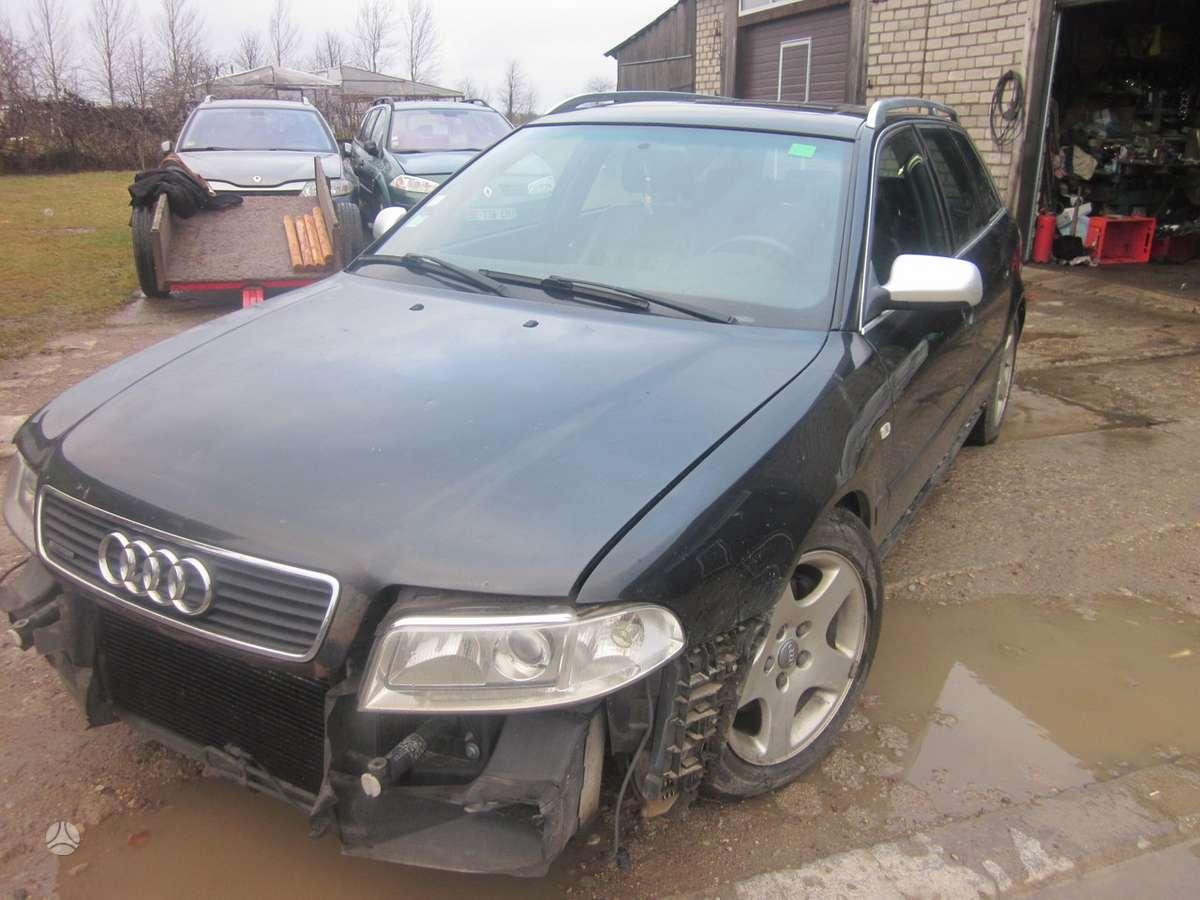 Audi A4. Yra daugiau ardomu auto ir varikliu galimas pristatymas