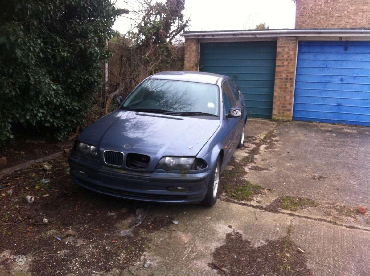 BMW 318. Anglas dalymis 1.8 bendzinas