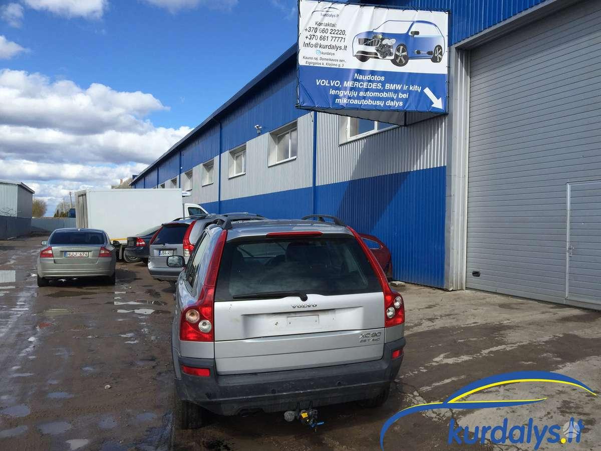 Volvo XC90. Turime ir daug kitų automobilių dalimis. volvo xc90