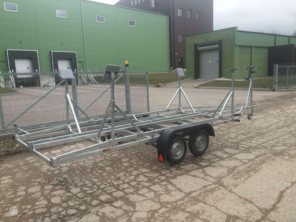 Baltic trailer B2V-6000x2, vandens transporto