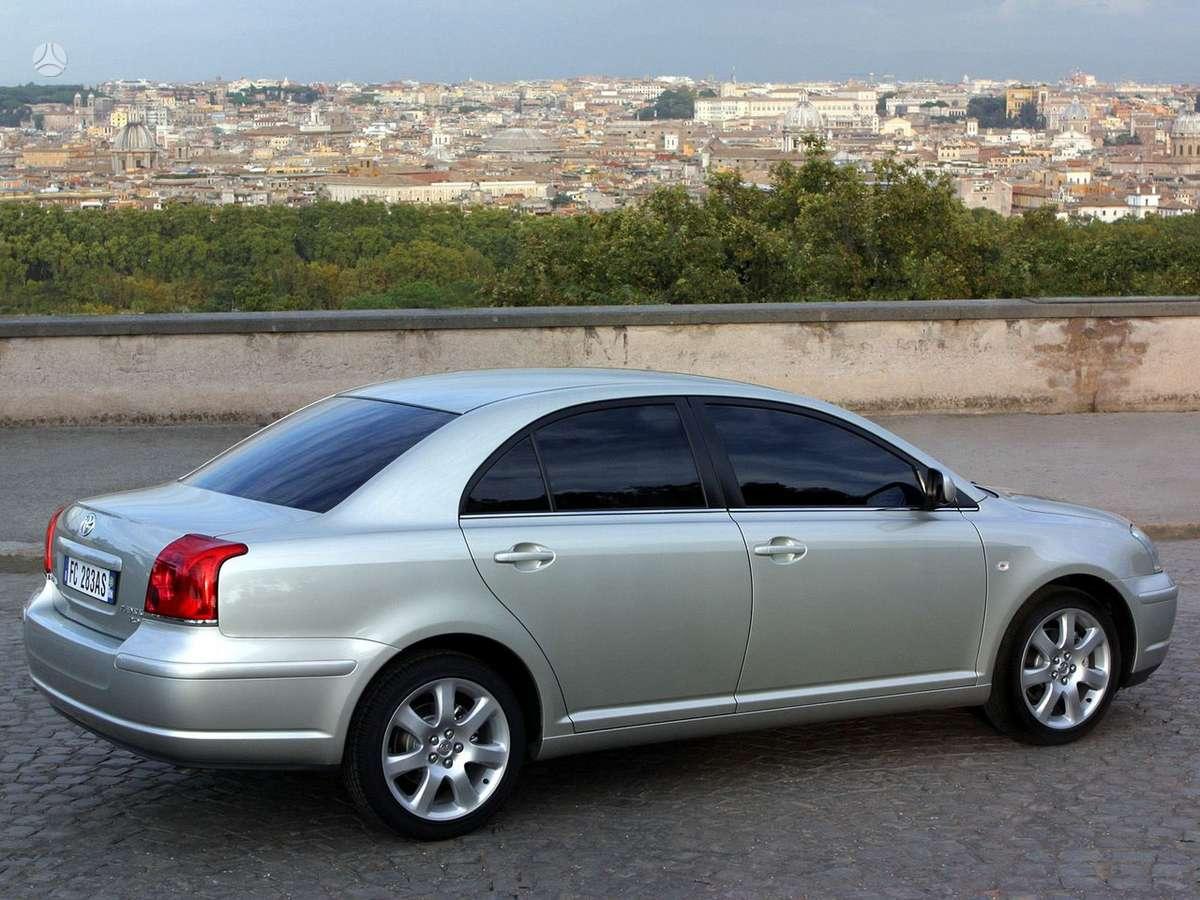 Toyota Avensis. Tel; 8-633 65075 detales pristatome beveik