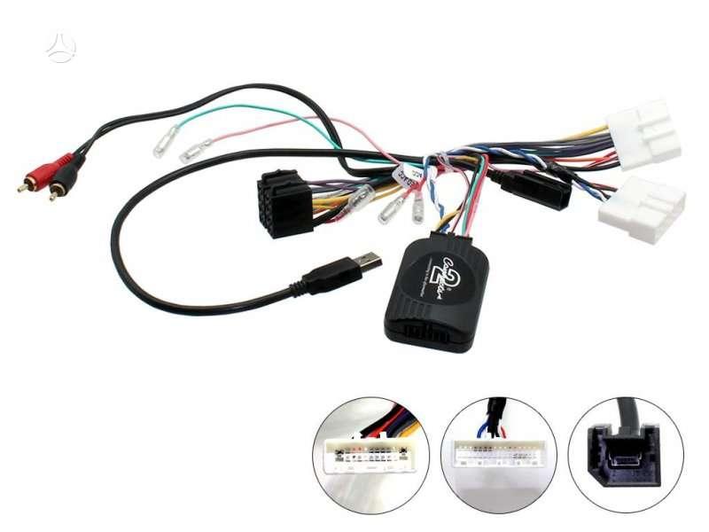 -Kita- Magnetolos valdymo ant vairo adapteris, dalys / priedai
