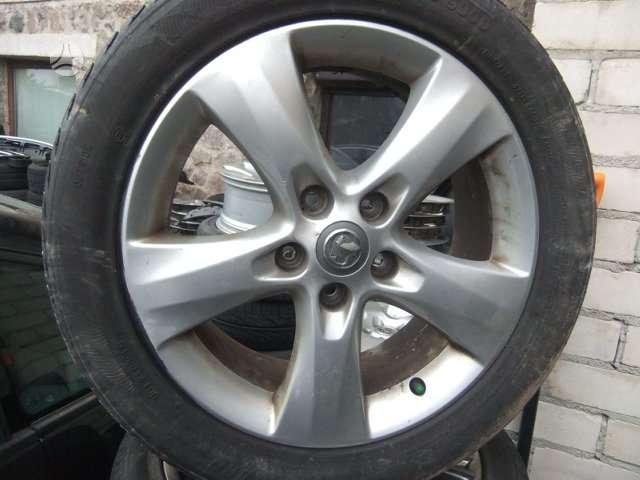 Opel 0PEL ASTRA J 1.7,20, lengvojo lydinio, R17