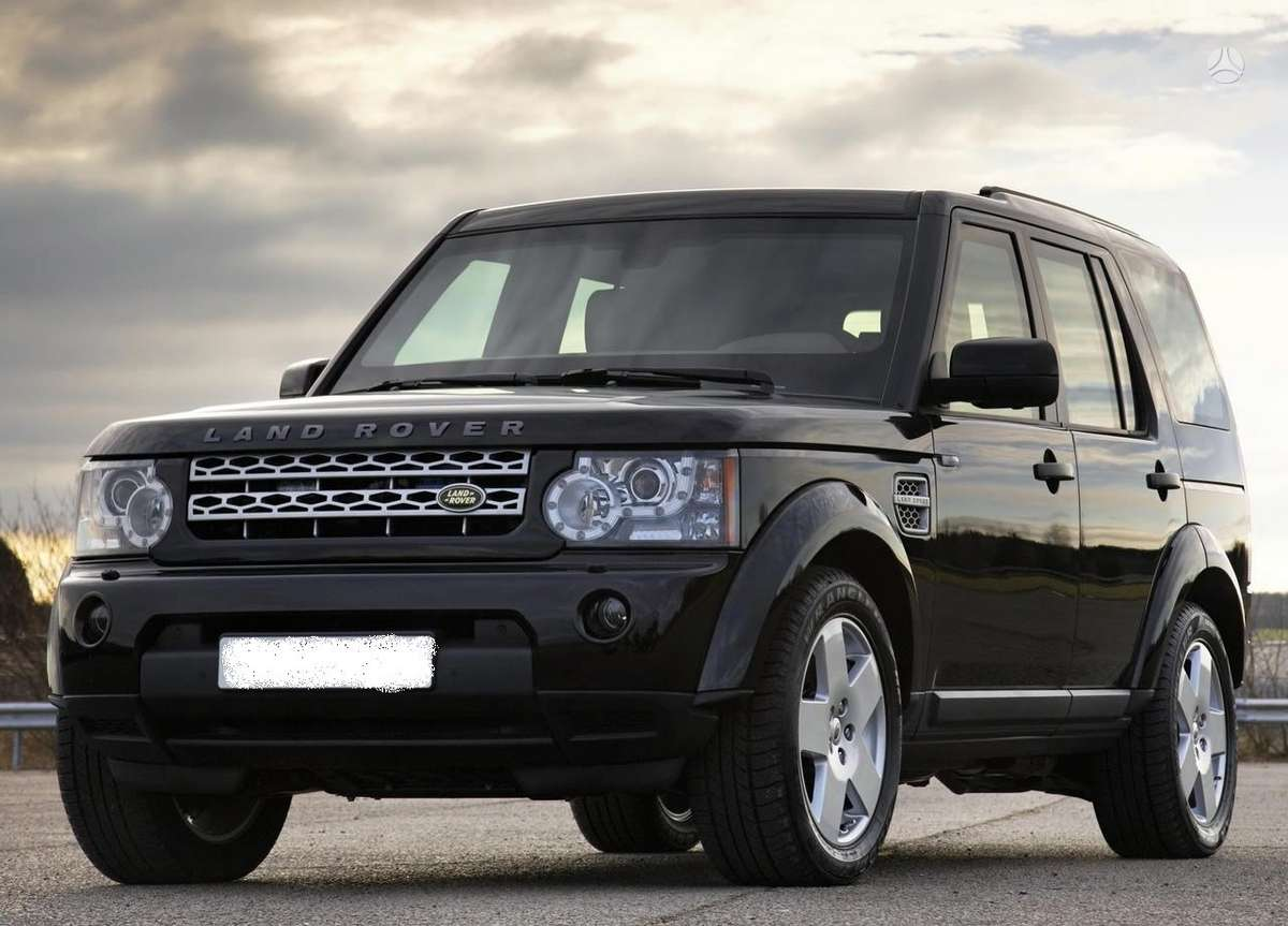 Land Rover Discovery. Angliskas dalimis