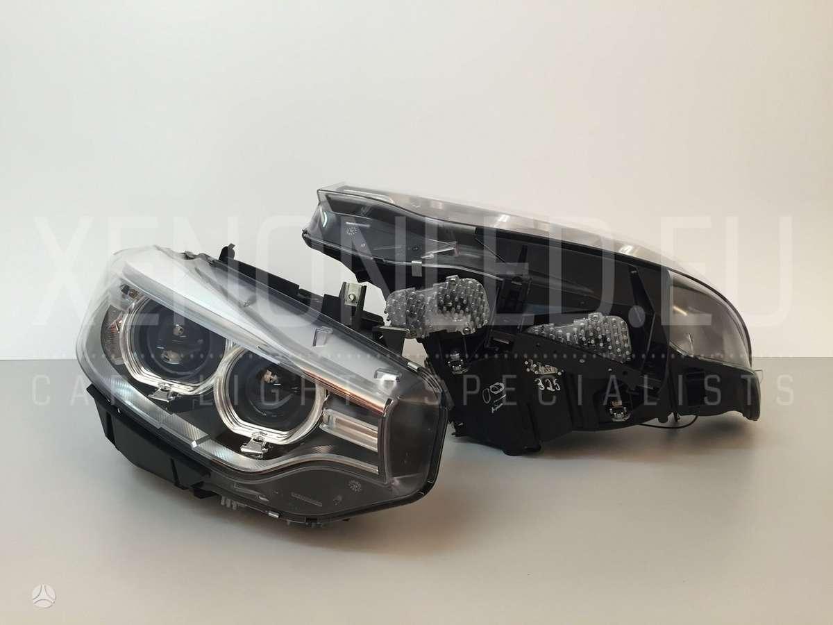 BMW 4 serija žibintai