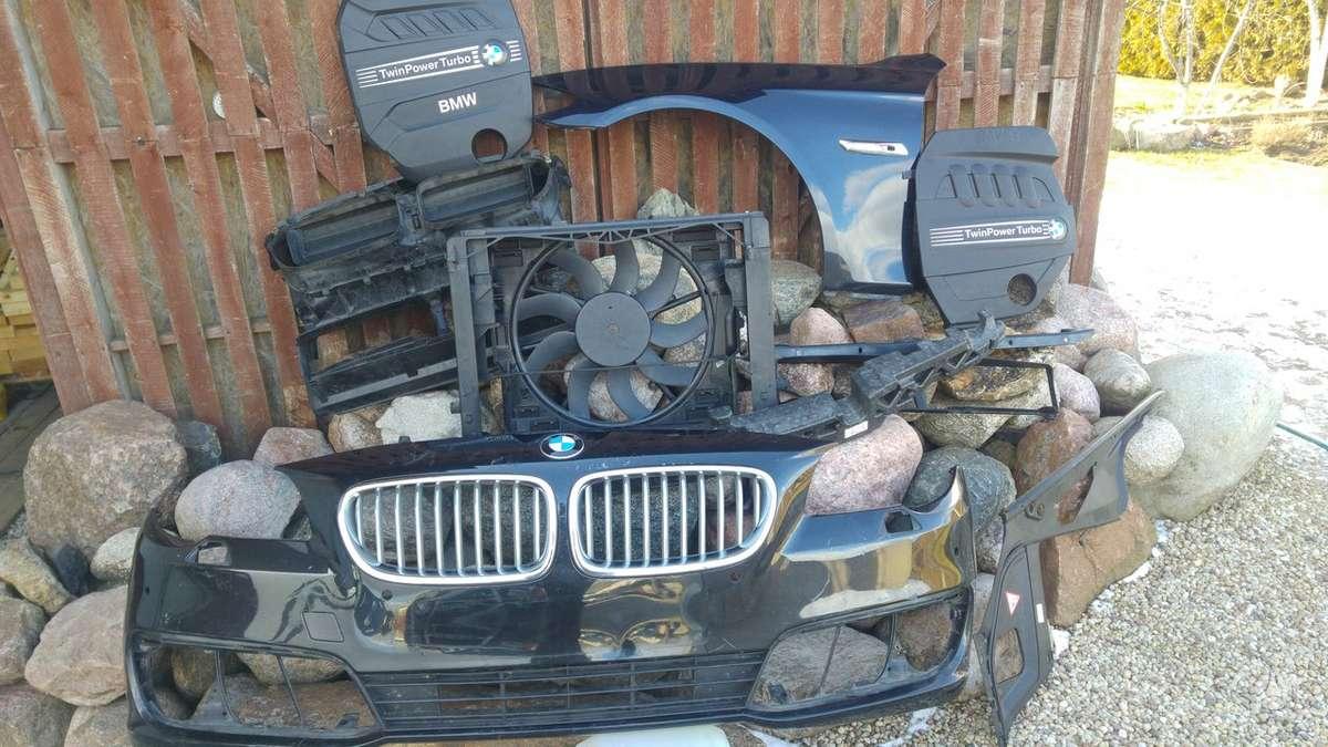 BMW 5 serija. Priekinis kapotas [juoas perlamutras], kapoto