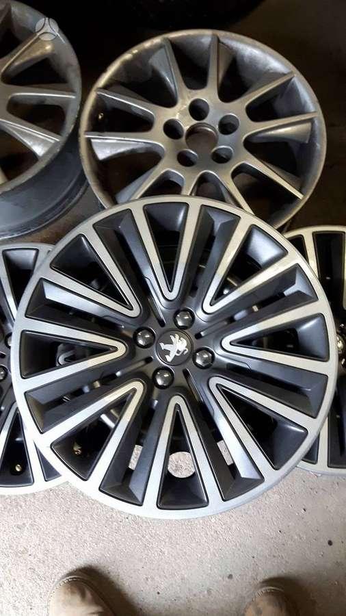 Peugeot, plieniniai štampuoti, R16