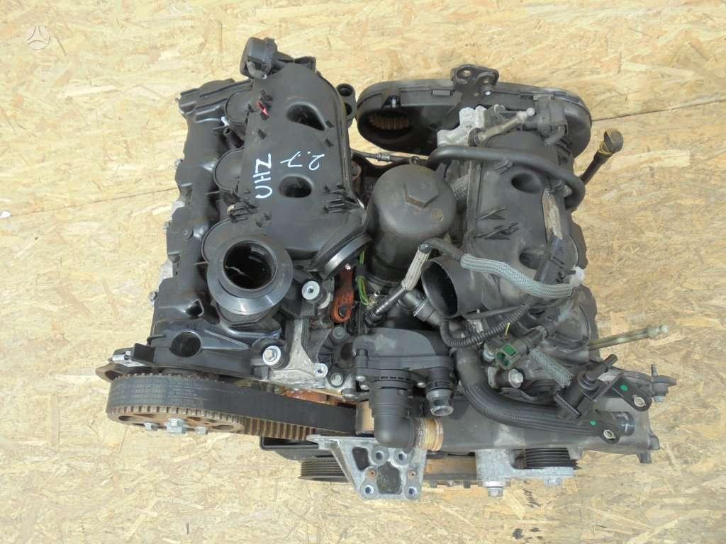 Peugeot 607. 2.7hdi variklis dalimis