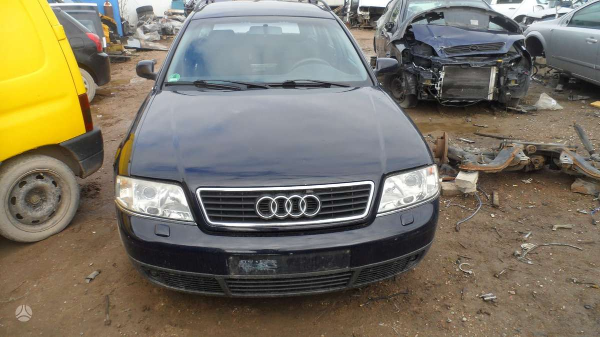 Audi A6 dalimis. Variklio kodas arj, superkame ivairiu markiu