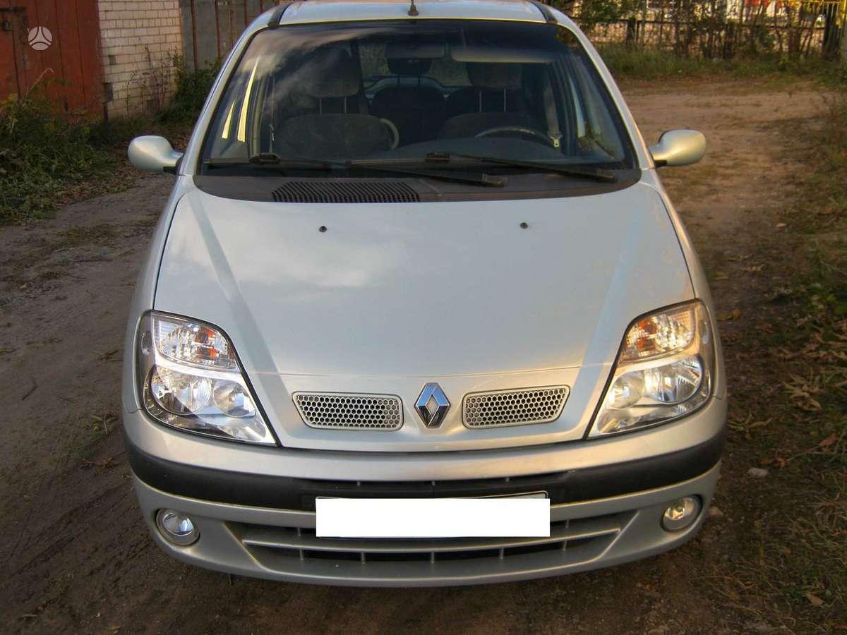 Renault Scenic dalimis. 1.6 16v  benzinas .is vokietijos.r15  ir