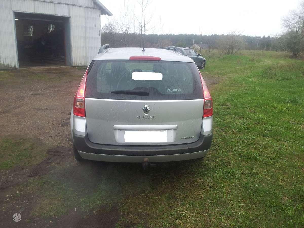 Renault Megane. Europa 78kw  siemens kuro sistema šildomos sė