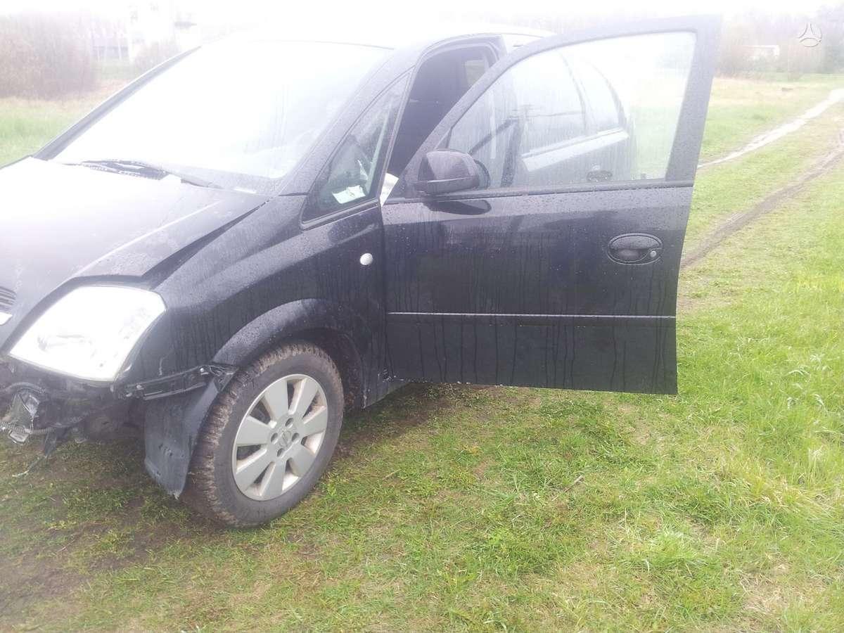 Opel Meriva. Engine z16se kablys, šildomos sėdynės originaliai