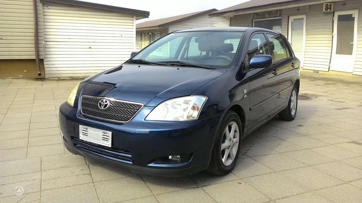 Toyota Corolla, 2.0 l., hečbekas