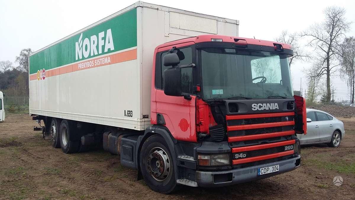 Scania 94 D, sunkvežimiai