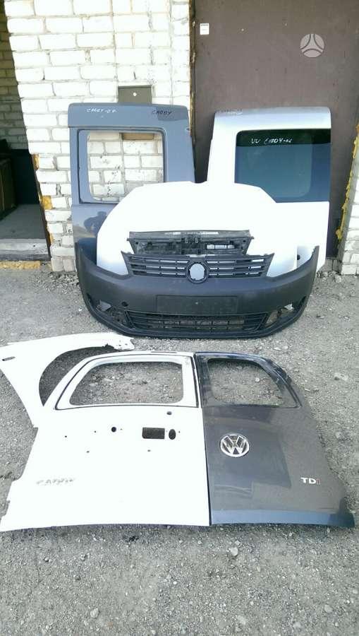 Volkswagen Caddy. Tik kėbulo dalys