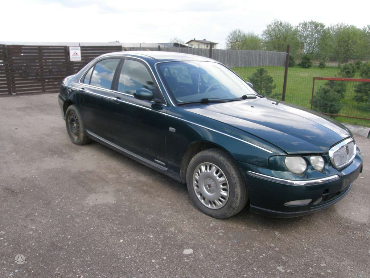 Rover 75. Dalimis