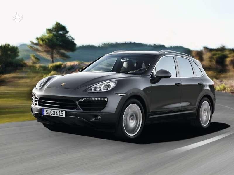 Porsche Cayenne dalimis. !!!! tik naujos originalios dalys !!!!