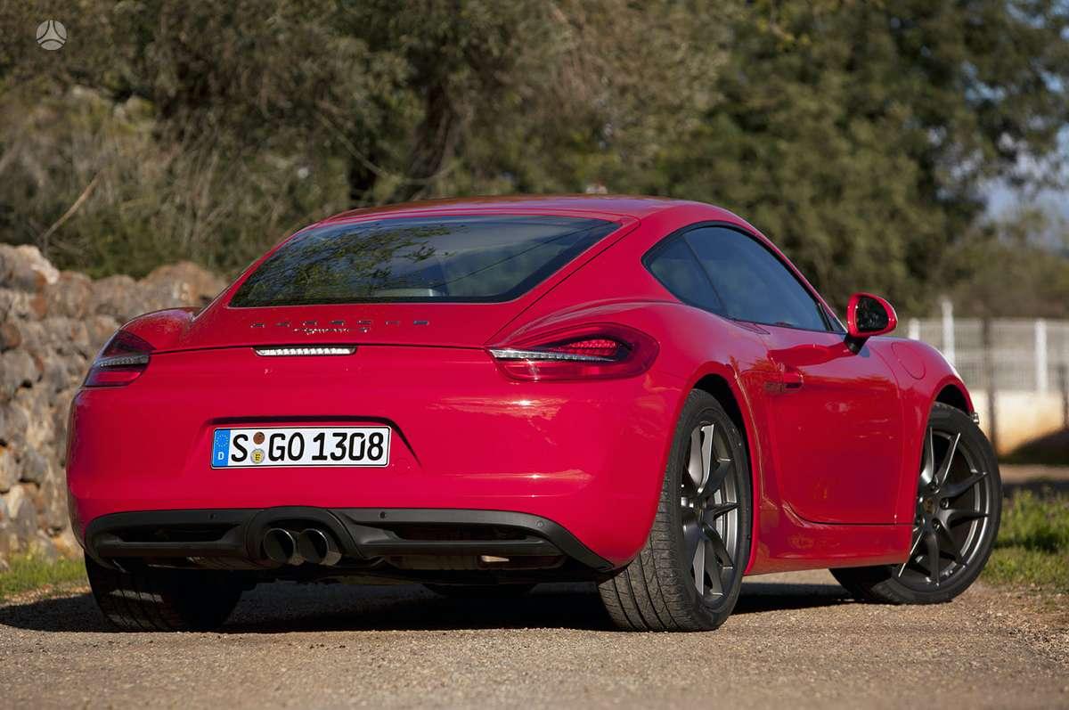 Porsche Cayman dalimis. !!!! tik naujos originalios dalys !!!!