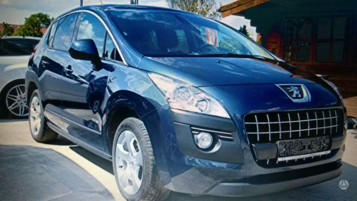 Peugeot 3008. Europa  3008 1,6hdi  automatas . e - hdi . platus