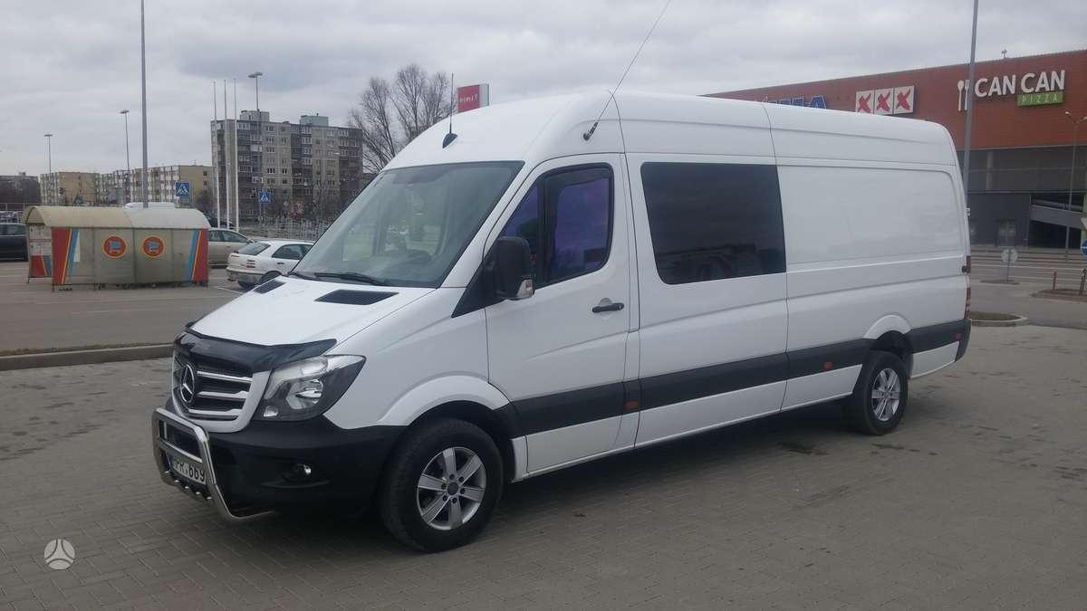 Mercedes-Benz Sprinter316CDI, keleiviniai mikroautobusai