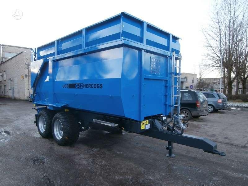 UGB Puspriekabė 12 tonų, traktorinės priekabos