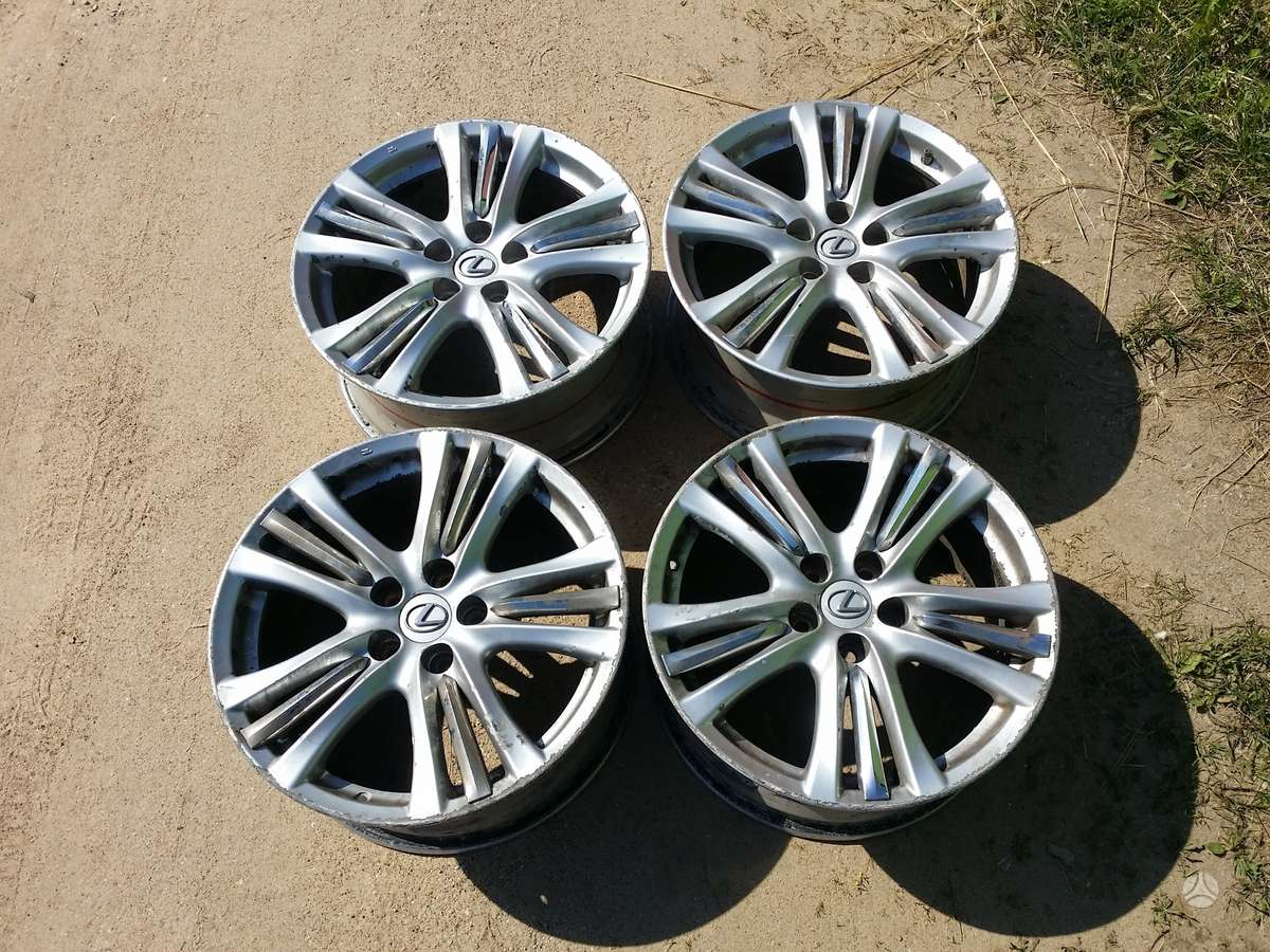 Lexus GS, lengvojo lydinio, R18
