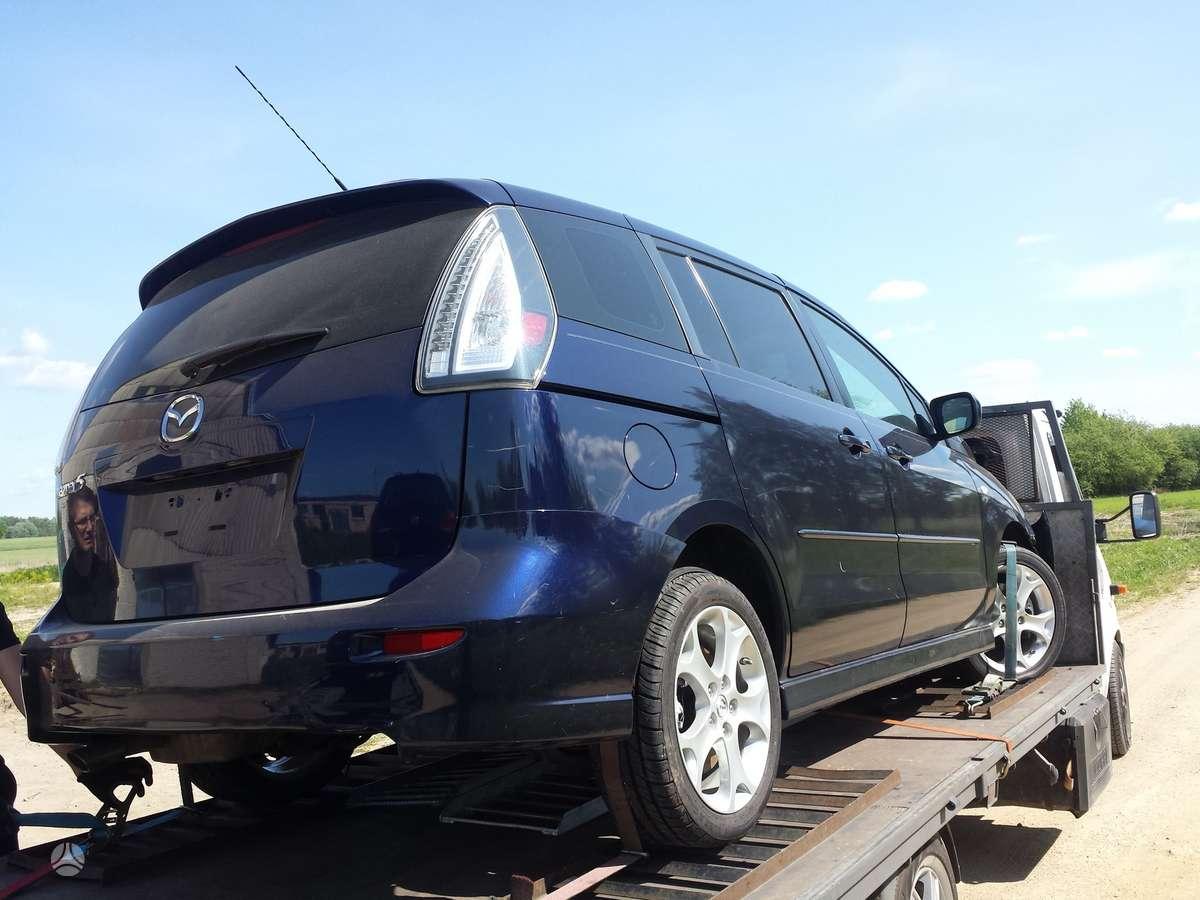 Mazda 5. Mot kod l3