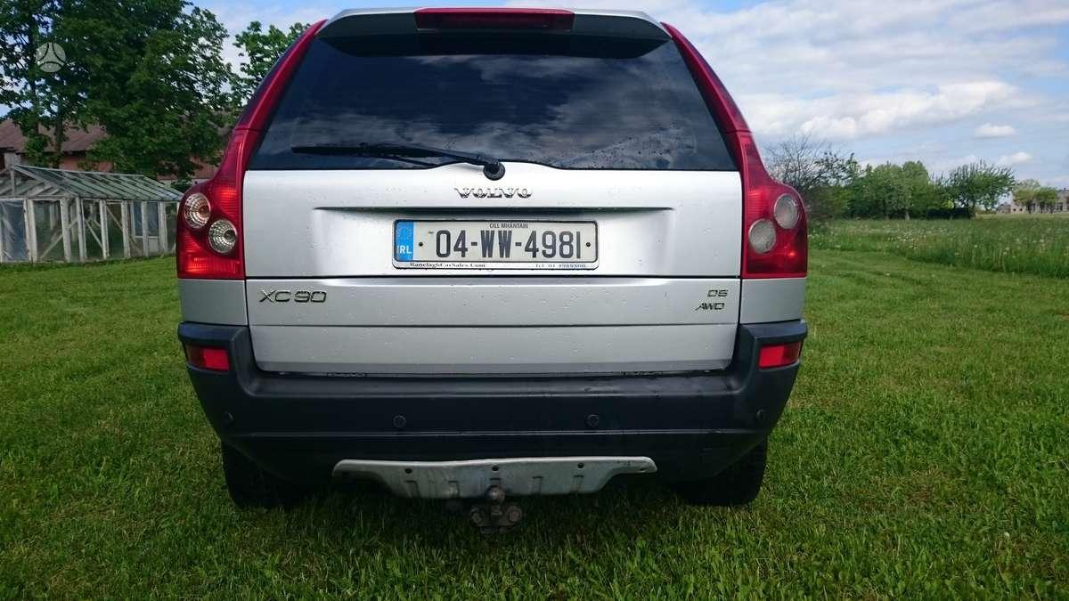 Volvo XC90 dalimis. Galimas pristatymas