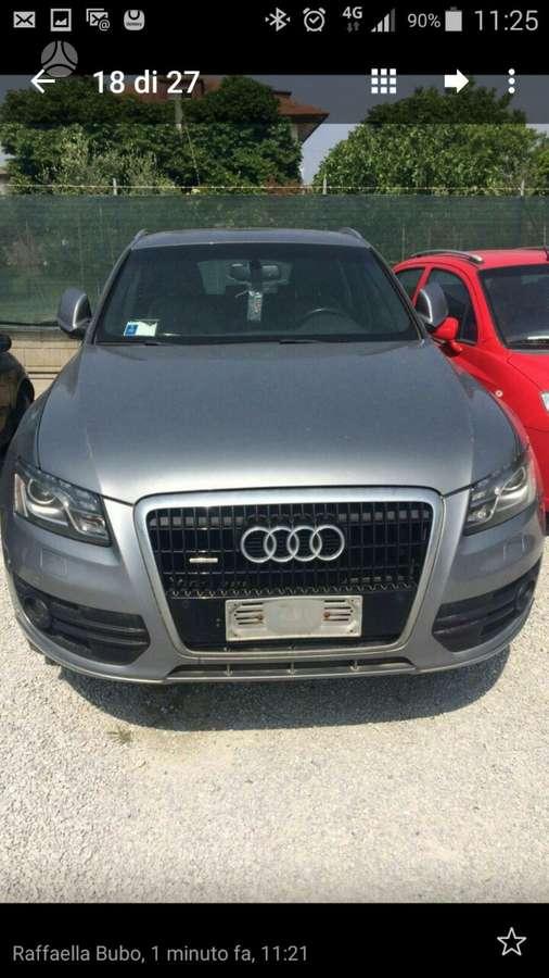 Audi Q5. Europa, naujos ziemines padangos