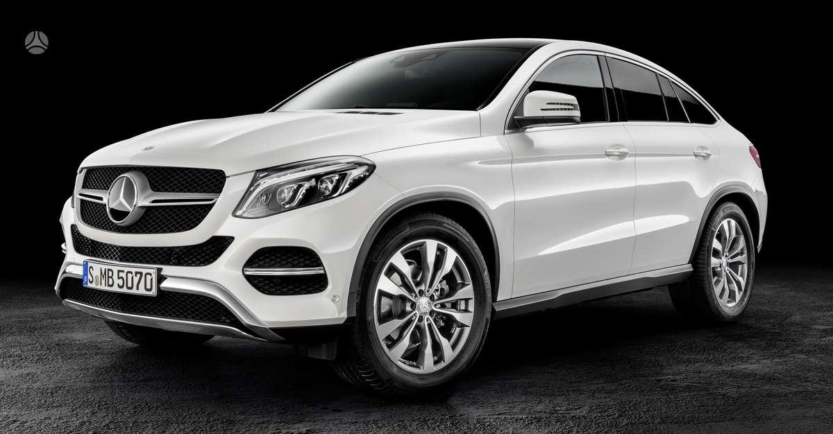 Mercedes-Benz GLE Coupe dalimis. !!!! tik naujos originalios