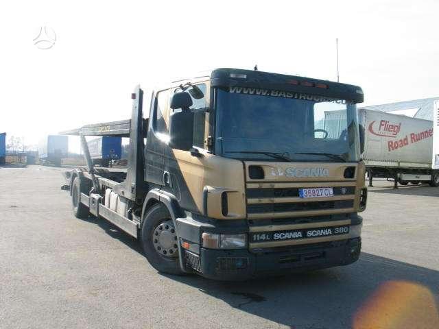 Scania 114, sunkvežimiai
