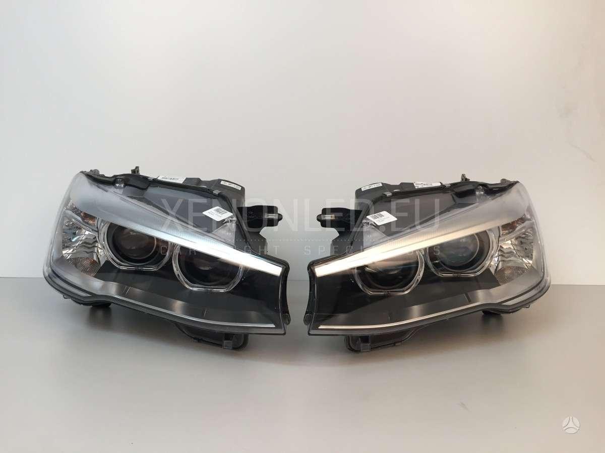BMW X3. Bmw x3 f25 2014- face lift dynamic žibintai gamintojas:
