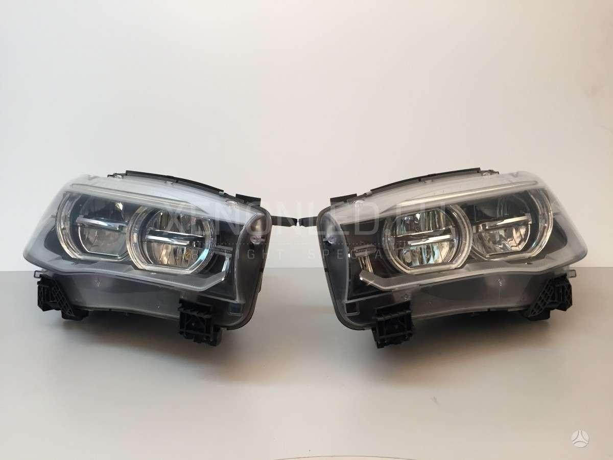 BMW X5. Bmw x5 f15 2013- full led žibintai gamintojas: al š