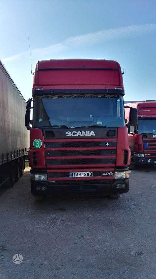 Scania R124, 1 miegamoji vieta