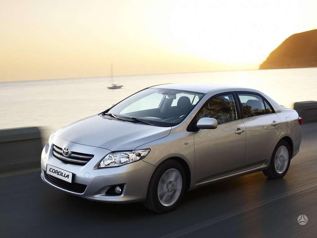 Toyota Corolla. Naudotos ir naujos japoniškų ir korėjietiškų