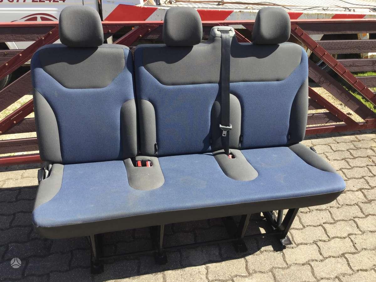 Opel Vivaro dalimis. Stogo bagazine, kablys, ir salonai. !!!!!
