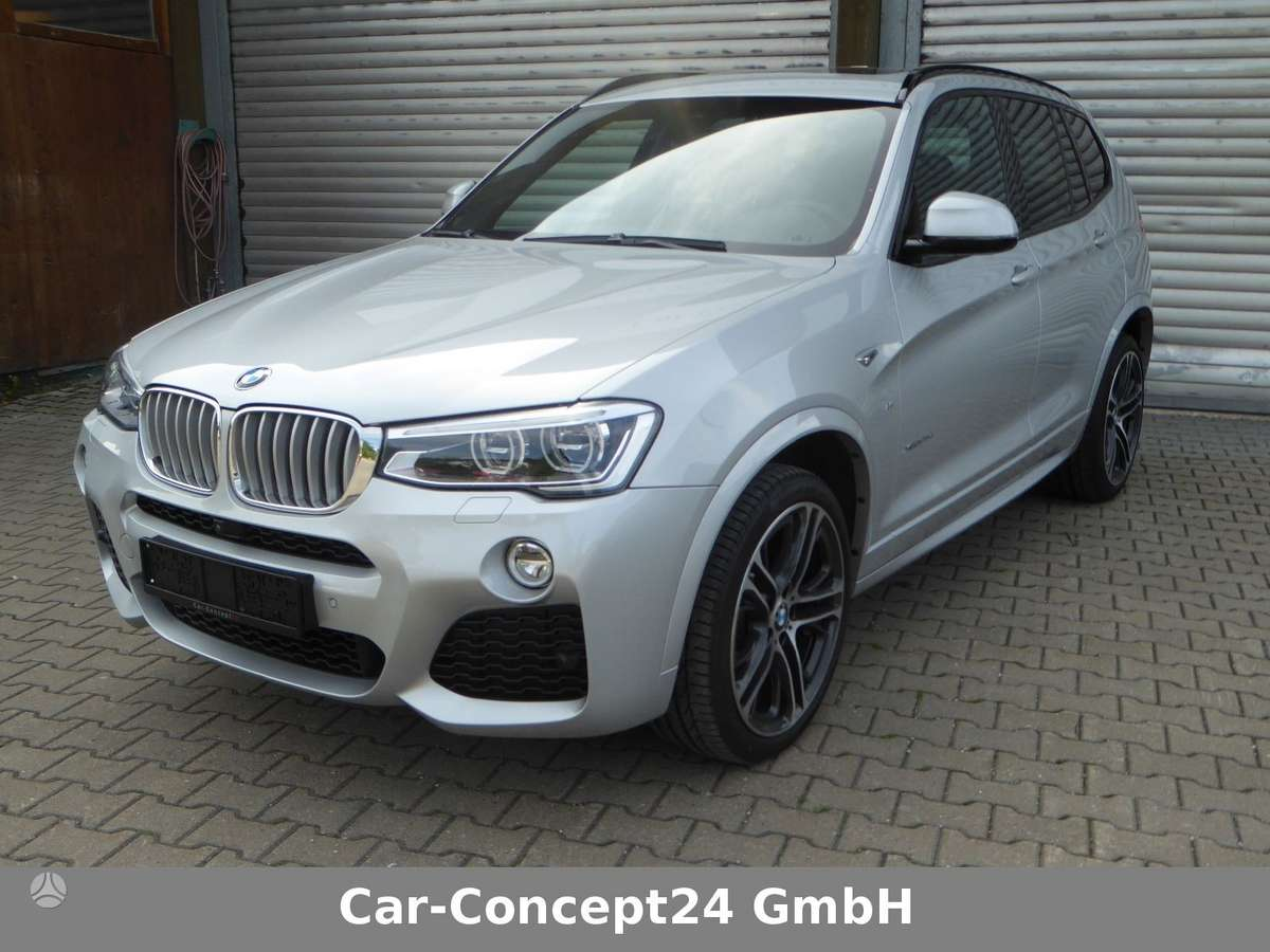 BMW X3. Atvezu dalis pagal uzsakyma.