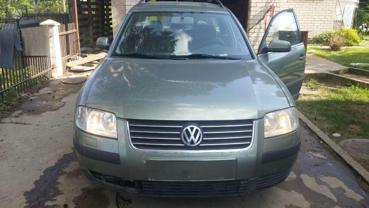 Volkswagen Passat. Variklio kodas: awc  europa iš šveicarijos(