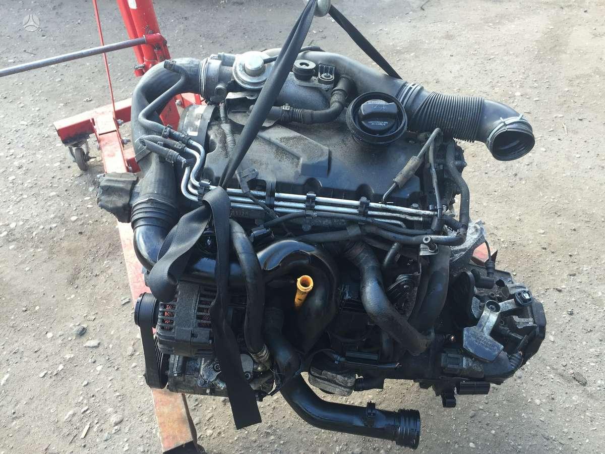 Volkswagen Passat įpurškimo sistema, kėbulo remonto medžiagos, variklis
