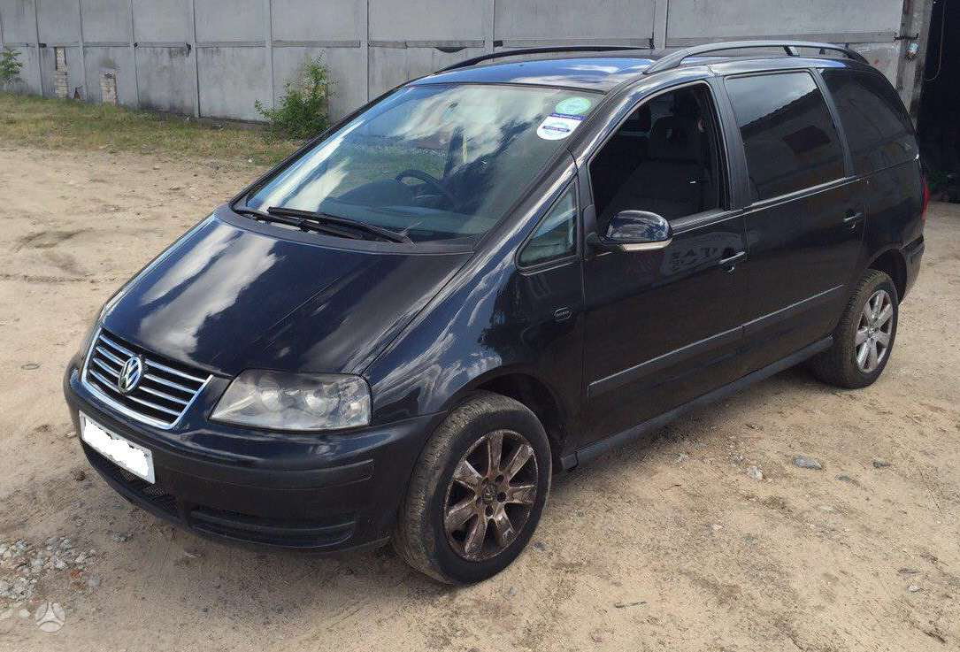 Volkswagen Sharan. 1.9tdi bvk 85kw purkštukai 038 130 073bp