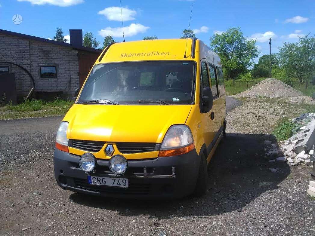 Renault Master, keleiviniai mikroautobusai