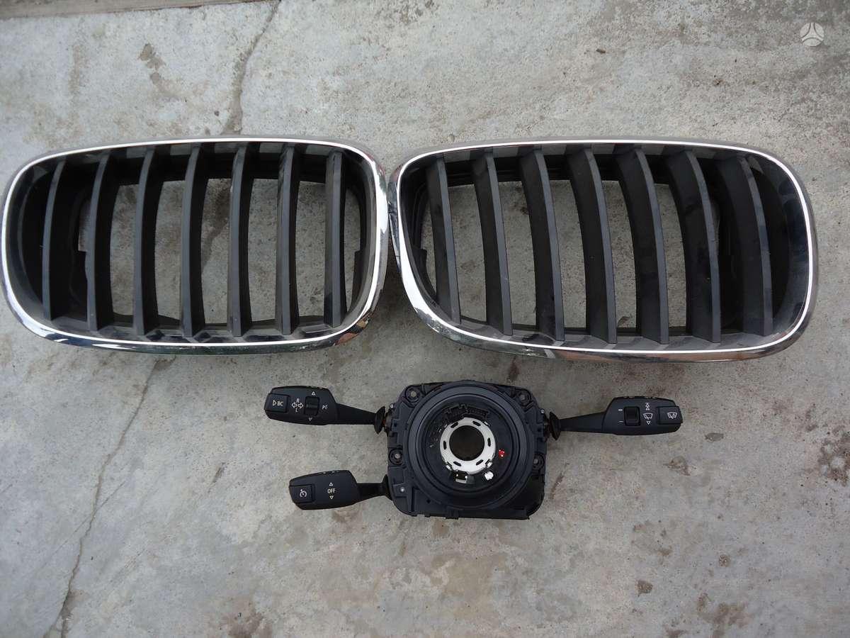BMW X5. šviesu,valytuvu,posūkių perjungimo blokas,grotelės