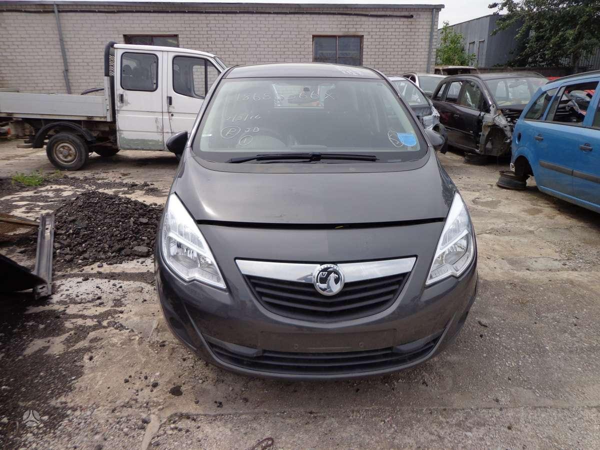 Opel Meriva. Opel meriva 2010m. 1.4 bendzinas motoras: a14xer
