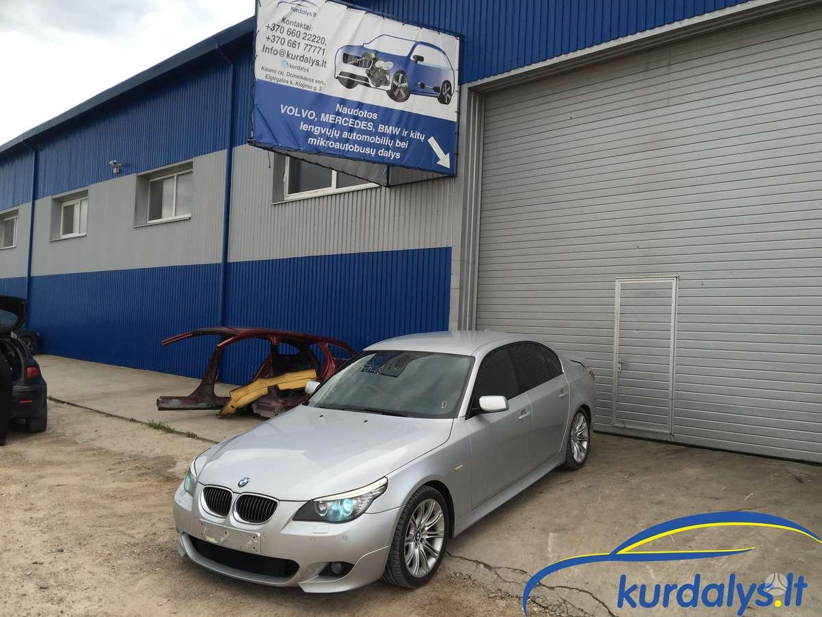 BMW 5 serija. Turime ir daug kitų automobilių dalimis bmw 530d
