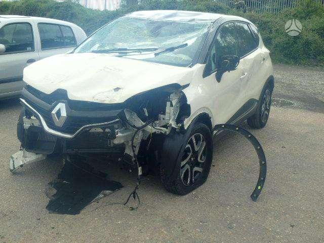 Renault Captur. Pristatome automobilių dalis į namus visoje