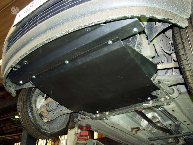 Ford Fusion. Plieninė 2 mm karterio apsauga ford fusion nuo 2002