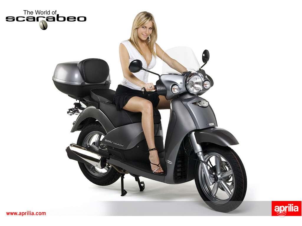 Aprilia Scarabeo, motoroleriai / mopedai