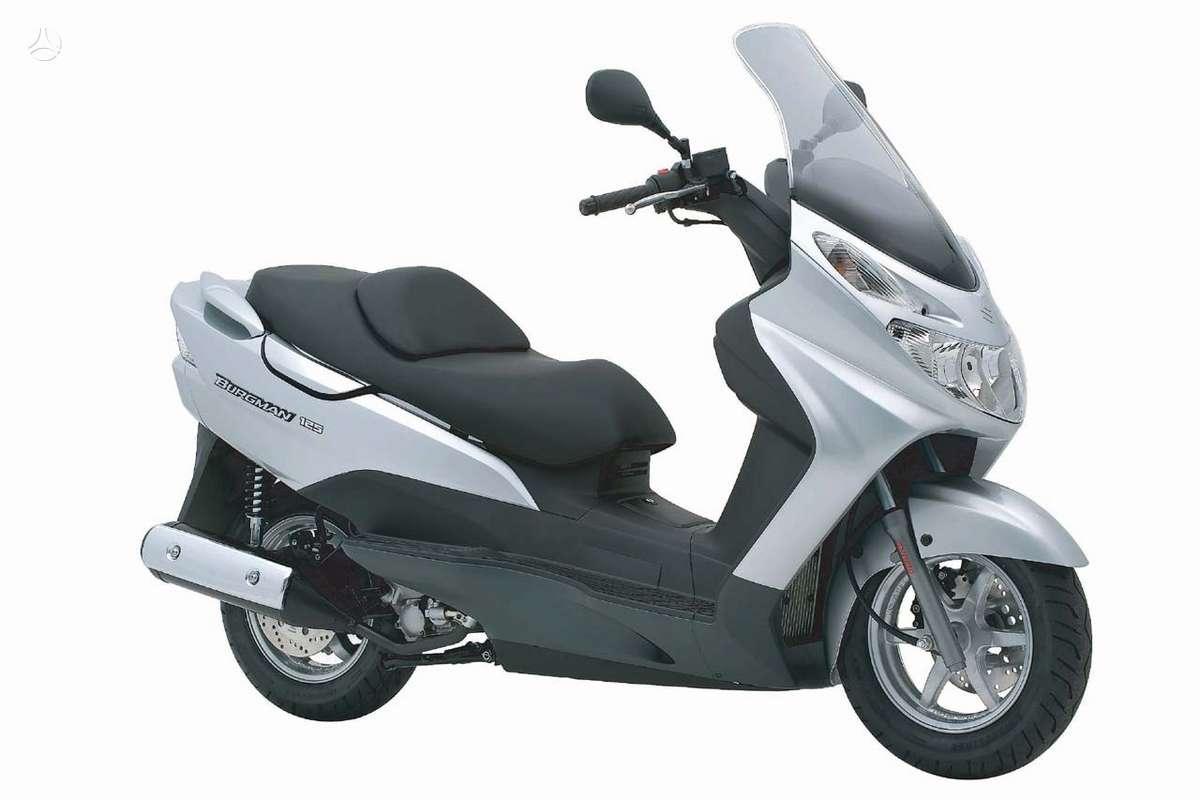 Suzuki Burgman, motoroleriai / mopedai