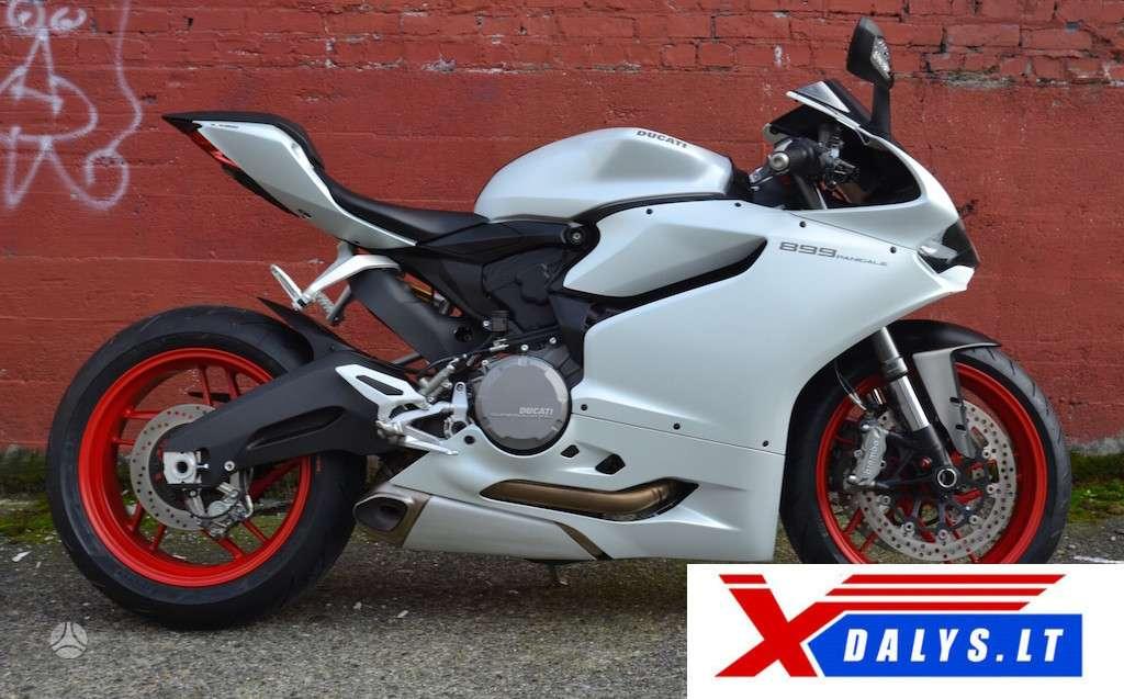 Ducati 899 Panigale, sportiniai / superbikes
