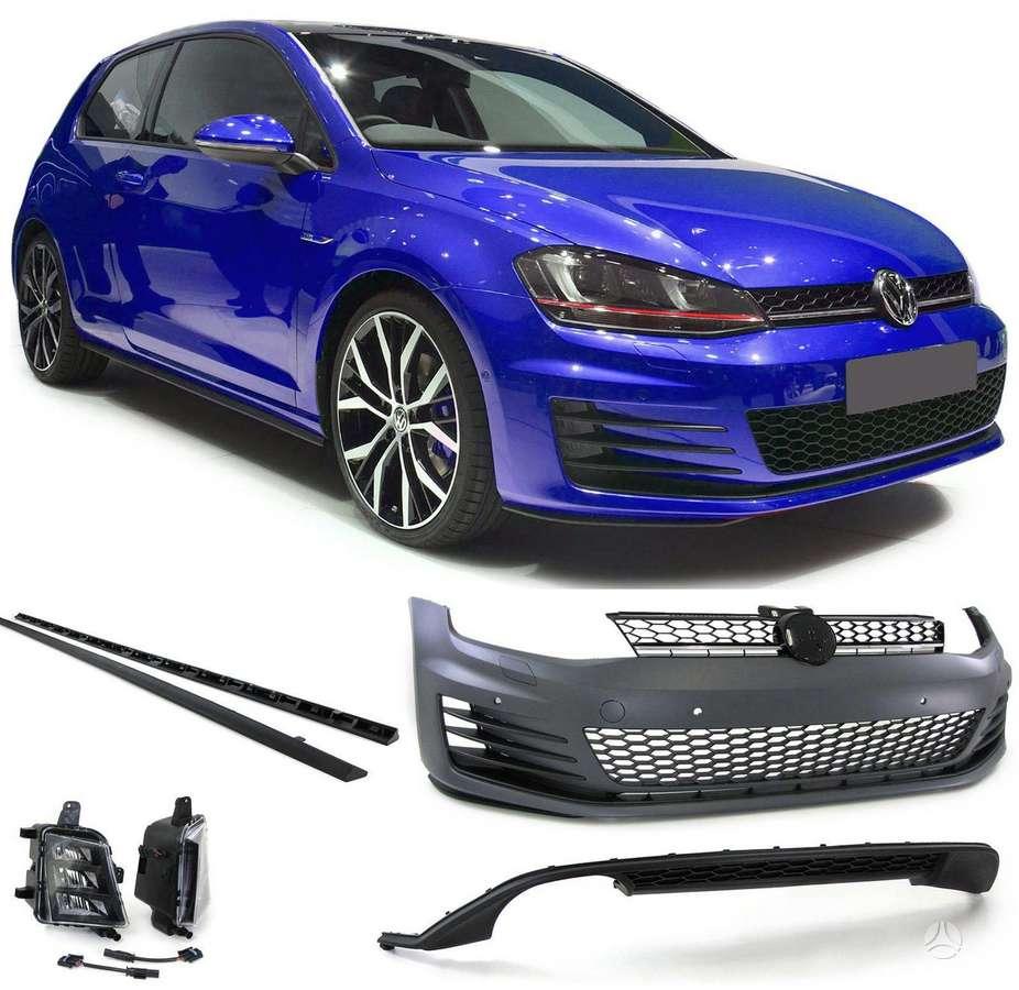 Volkswagen Golf. .gti komplektas -kaip 1 pvz.priekinis bamperis
